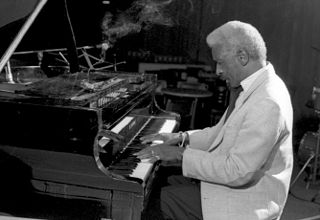 Mal Waldron American jazz pianist and composer