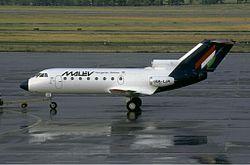 Malev Yakovlev Yak-40 JetPix.jpg