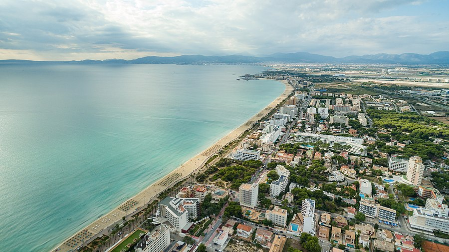 Mallorca Platja de Palma Strand (30178917243)