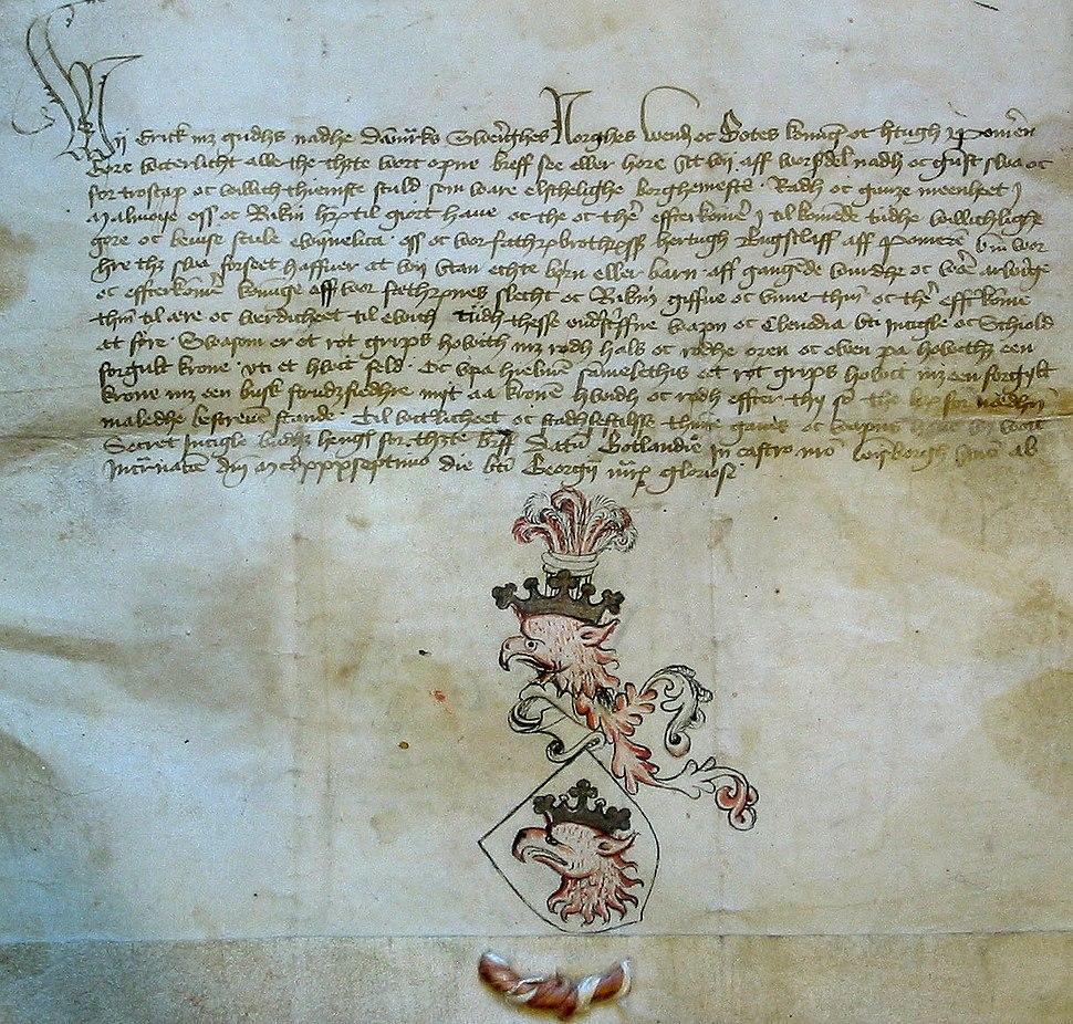 Malmo vapenbrev 1437