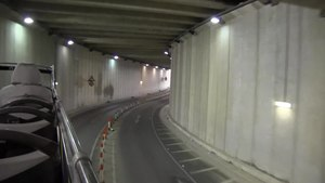 File:Malta - Sliema - Tigné Point - Tigné tunnel 01 (0) ies.webm