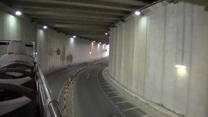 File:Malta - Sliema - Tigné Point - Tigné tunnel 01 (0) ies.webm