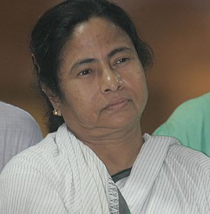 Trinamool Congress chief Mamata Banerjee atten...