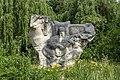 Mamay monument in Rokyni Volynska oblast, 2021.jpg