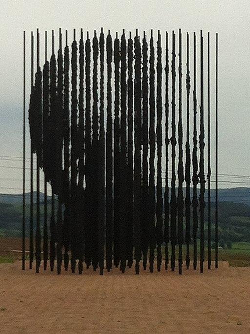 Mandela Capture Site Sculpture Small