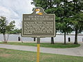 Mandeville Battle of Lake Pontchartrain plaque.JPG