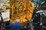 Mandylion icon in Sretensky Monastery (Moscow) 02.png