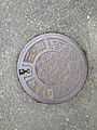 Manhole cover of Yanagawa-Mitsuhashi Partial-Affairs Association.jpg
