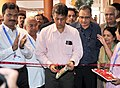 Manish Tewari inaugurating the poster exhibition of the National Film Archive of India, during the 44th International Film Festival of India (IFFI-2013), in Panaji, Goa. The Secretary, Information and Broadcasting.jpg