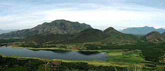 Theni district - Manjalaru Dam.