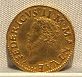Mantova, federico II gonzaga marchese, oro, 1519-1530, 01.JPG