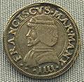 Mantova, mezzo testone di francesco II gonzaga, 1484-1519.JPG