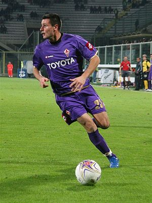 Manuel Pasqual - Pasqual playing for Fiorentina in 2007