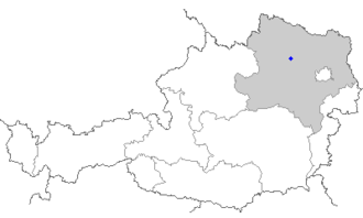 Rohrendorf bei Krems - Image: Map at rohrendorf noe