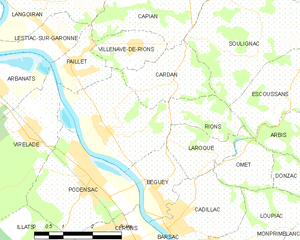 Map commune FR insee code 33355.png