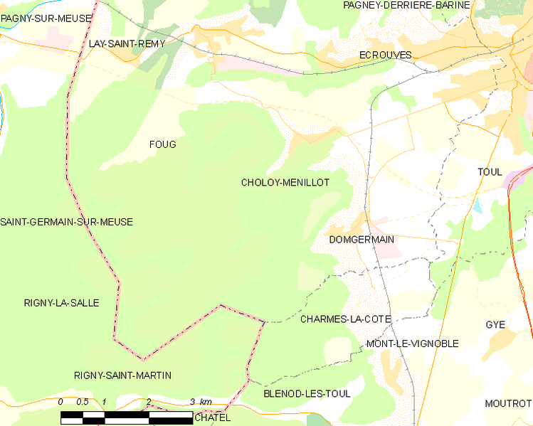 Archivo:Map commune FR insee code 54128.png