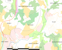 Map commune FR insee code 74019.png