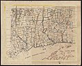 Map of Long Island sound and Connecticut by Laura Roys in 1857.jpg