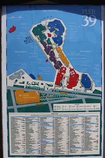 File Map Of Pier 39 Tk1 Jpg Wikimedia Commons