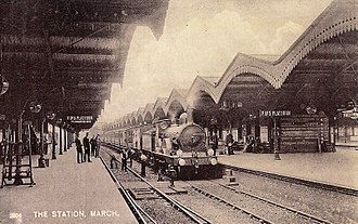 Great Northern and Great Eastern Joint Railway - March railway station