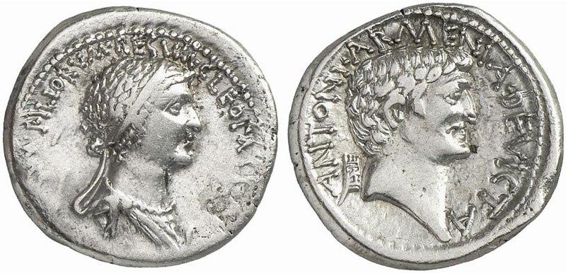 Marcus Antonius - Cleopatra 32 BC 90020163