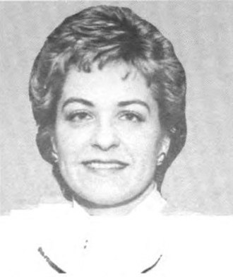Marcy Kaptur - Portrait of Kaptur from the 1985 Congressional Pictorial Directory