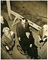 Margaret Mellyn Collins, two unidentified men, Mayor John F. Collins, and Mary Collins (10696063983).jpg