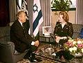 Margaret Thatcher and Chaim Herzog 1986.jpg