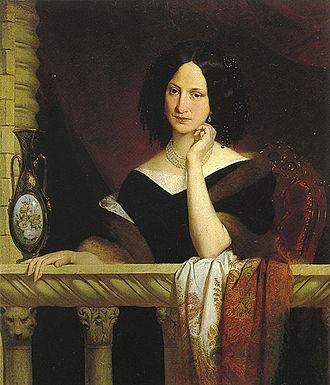 Adeodato Malatesta - Portrait of Archduchess Maria Theresa of Austria-Este