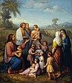 Marie Ellenrieder Jesus von Kindern umgeben 2.jpg