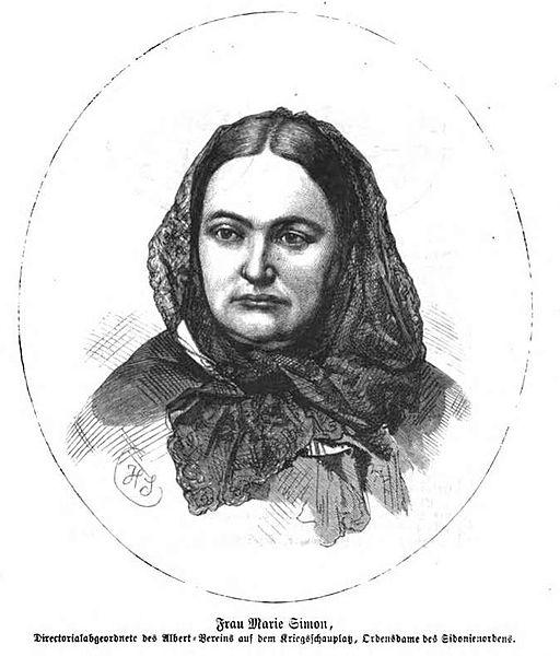 Datei:Marie Simon (IZ 57-1871 S 69 HScherenberg).jpg