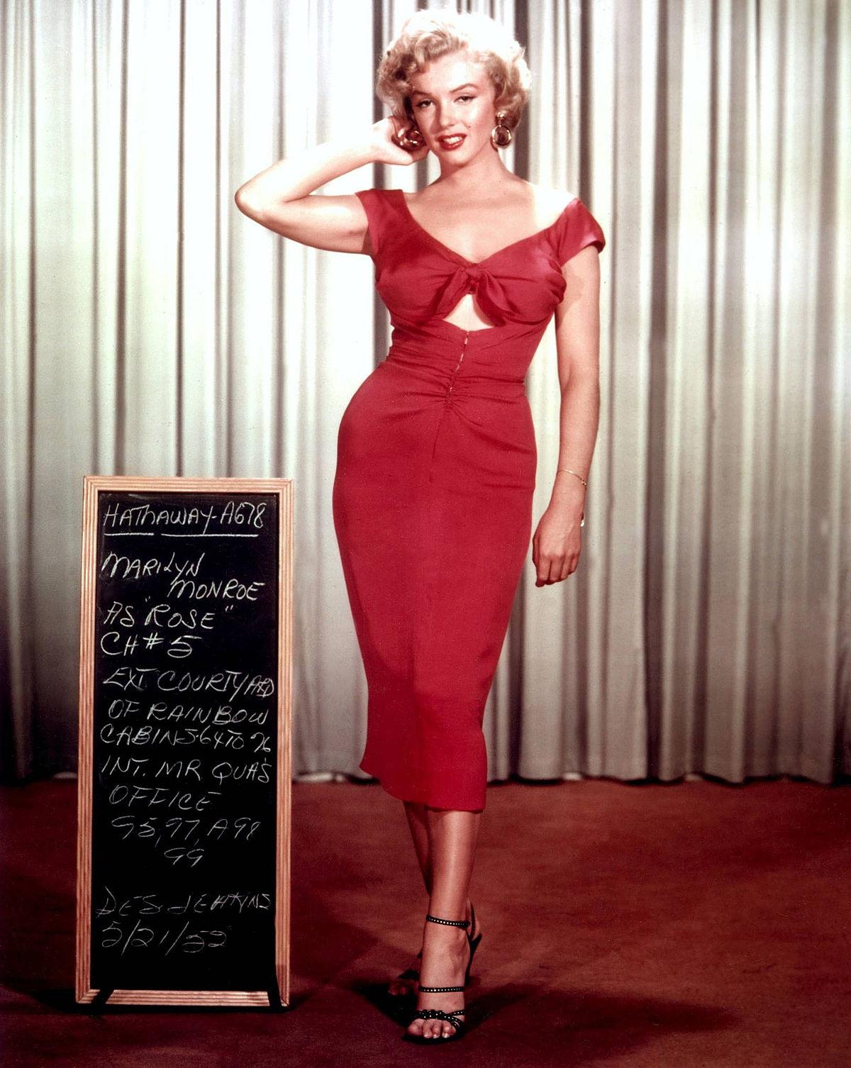 Marilyn monroe resume
