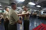 Marines, Sailor graduate corporals course at sea 140512-M-WB921-045.jpg