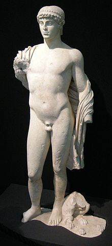 Apollo con grifone, Ascoli Satriano (FG)