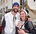 Married couple of the beggards met their daughter Brielle.jpg