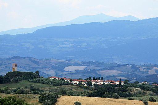 Veduta di Marrucheti, Istia d'Ombrone