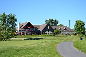 Marshes Golf Club - Marshes Clubhouse from the 7th tee