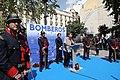 Marta Higueras, Javier Barbero y Jorge García Castaño en el homenaje a los bomberos fallecidos en el incendio de los Almacenes Arias 03.jpg