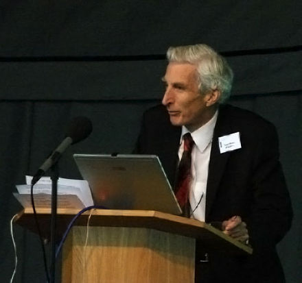 Martin Rees was Master of Trinity from 2004 to 2012 Martin Rees at Jodrell Bank in 2007.jpg