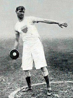 Athletics at the 1908 Summer Olympics – Mens discus throw Athletics at the Olympics