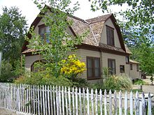 photo of Mary Hunter Austin's home in Independence, CA