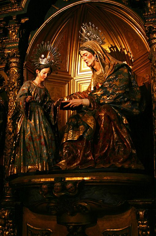 Retable de Marie et Saint Anne dans l'église de San Salvador à à Séville - Photo © José Luiz Bernardes Ribeiro / CC BY-SA 3.0