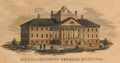 MassGeneralHospital ca1821 engr by Annin and Smith BostonAthenaeum.png