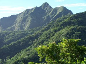 Matafao Peak - Image: Matafao Peak National Natural Landmark