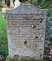 Matthew MacIlwraith Covenanter martyr gravestone, Colmonell, South Ayrshire.jpg