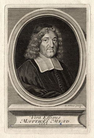 Matthew Mead (minister) - 1683 engraving of Matthew Mead, by Robert White