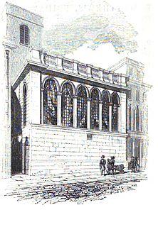 St Matthew Friday Street Church in London