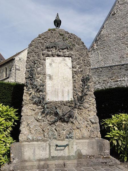 Mauregny-en-Haye (Aisne) monument aux morts