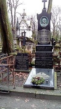 Maurycy Mann grób.JPG