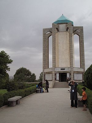 Baba Tahir - Tomb of Baba Tahir in Hamadan